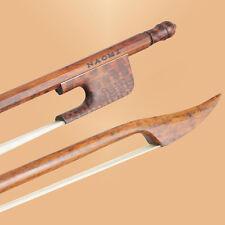 Pro Master Beautiful Snakewood Baroque Style Violin Bow 4/4 Stiff Fast NAOMI BOW