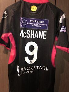 Paul McShane Rugby League Match Worn Away Shirt Wakefield Trinity 2014