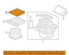 HONDA OEM 07-08 Fit-Cabin Air Filter 80291SAA306