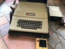 Apple II Plus Computer with Disk drive, joystick and hardshell travel case