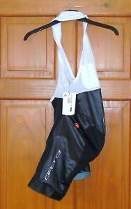 BNWT CASTELLI X PINARELLO AERO RACE BIB-SHORTS. BLACK SIZE LARGE