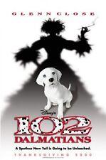 "DISNEY 102 DALMATIANS Double Sided Original Movie Poster 27""x 40"""