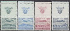 CZECHOSLOVAKIA - 1946 COMPLETE COUPON on AIR SET Mi.: 496-500 - **MNH**