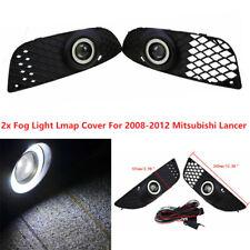Para Mitsubishi Lancer 2008-2012 Rejilla Lámpara LED De Luz De Niebla Ojo Cable Cableado de ángulo
