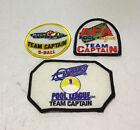 APA Dynamo Molson Pool League Team Captain Patches Set Of 3