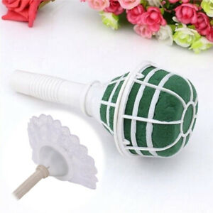 DIY Decoration With Lace Light Foam Bouquet Handle Wedding Flower Holder