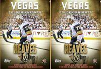 2x VEGAS GOLDEN KNIGHTS HIGHLIGHTS RYAN REAVES Topps NHL Skate Digital Card