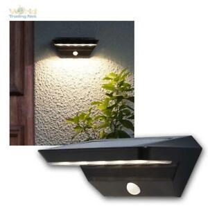 LED Solar Wall Light 200lm with Motion Detector, Entrance Lamp Outdoor Light