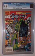 G.I. Joe #142  (CGC 9.8 White)  Marvel Comics 1993 GI   Snake Eyes + Transormers
