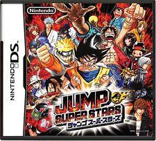 DS Nintendo NDS Jump Super Stars Japan Import USED Game Naruto Superstars