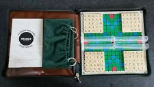 Vintage Travel Scrabble Complete with Padded Zipped Case