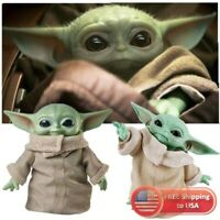 "Baby Yoda Star Wars Mandalorian The Child 11"" Plush Doll GWD85 Mattel Toy Gift"