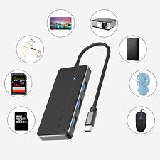 Type-C Connector USB 3.0 4-Port Ultra Slim Data Hub For PC/Macbook/Mac Pro/mini