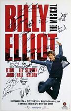 BILLY ELLIOT Every Broadway Billy - Kulish, Alvarez, Kowalik ++ Signed Poster