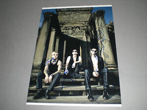 Placebo  Brian Molko  signed autograph Autogramm 8x11 photo in person