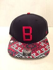 Boston Red Sox 47 Brand MLB COOP Moroc Fitted Hat Size 7 1/4 Black/Red