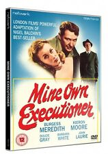MINE OWN EXECUTIONER. Burgess Meredith, Dulcie Gray. New sealed DVD.