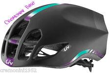 Liv Extima Casco bici Corsa Road Aero Bike Helmet Woman Donna Nero ciclismo M