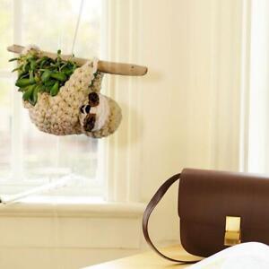 Hanging Sloth Shaped Planter Pot Garden Flower/Succulent Pot Home Decor