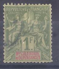 Colonies françaises  - Nouvelle Calédonie - n° 53 oblitéré