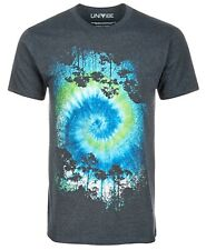 $65 Univibe Men'S Gray Blue Short-Sleeve Crew-Neck Graphic T-Shirt Size Xl