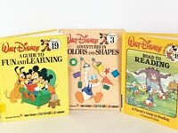 Vtg Walt Disney Road To Reading Books 2 Parent Guides~1 Child's Educational 3 Pc