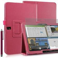 "Plegable Funda Tablet Para Samsung Galaxy Note Pro T520 Rosa 10,1"" + Pin +"