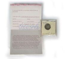 Ancient Greek 330 B.C. Macedonia, Alexandre III, Silver Drachma w/ Certificate