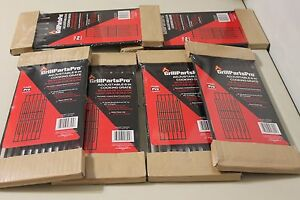 """Brinkmann Grill Parts Pro 6 Adjustable Cooking Grates 6"""" W Ext 14"""" to 20"""" D"""
