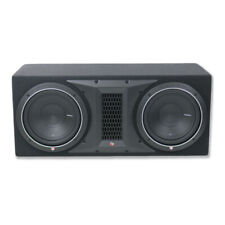 """Rockford Fosgate P1-2X12 Dual 12"""" 1000W Subwoofer Loaded Vented Enclosure NEW"""
