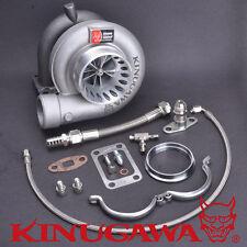 """Kinugawa Billet Turbocharger 4"""" TD07S w/ Garrett T04R wheel T3 V-Band 14cm 750PS"""