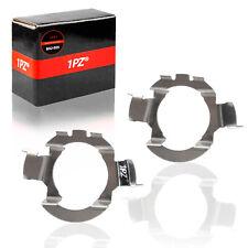 2 x H7 LED Headlight Bulb Adapter Holder For Benz Audi BMW Nissan VW Jetta Buick