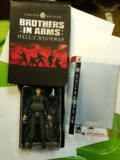 PS3 Brothers in Arms Hells Highway Limited Edition SGT. Matt Baker Action figure