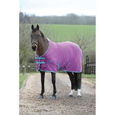 Horze Happy-Go-Lucky Pony Fleece Rug Purple New RRP £19.99