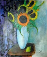 Artistes du XXe siècle et contemporains huiles signés pour expressionnisme