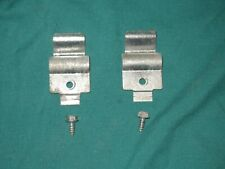 2 Whirlpool Dryer Panel Hinges with screws 238088 Wp8066217 Dl32