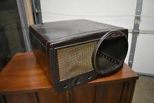 Vtg Bakelite Motorola television Tv set case 40's 50's