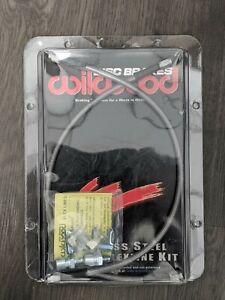 """Wilwood 220-8307 Brake Hose Flexline Kit 18"""" Length -3 Female Inlet Fitting"""