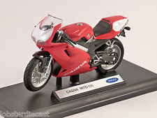 CAGIVA MITO 125 1/18 scale model by WELLY