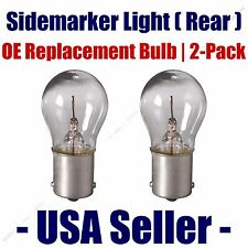 Sidemarker (Rear) Light Bulb 2pk - Fits Listed AM General Vehicles - 93