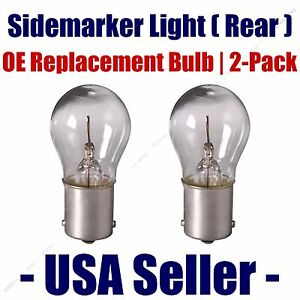 Sidemarker (Rear) Light Bulb 2pk - Fits Listed AM General Vehicles - 93