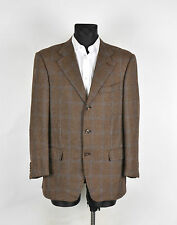 Pal Zileri Sartoriale Pure Cashmere Men Jacket Blazer Size EU50 UK40, Genuine