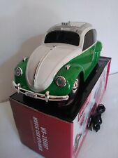 Mini Car Speaker BT Mini Buggy Light Up multicolors Speaker white&Green