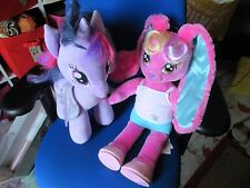 Build a Bear Workshop  My Little Pony Twilight Sparkle Glitter & MLP RABBIT.