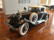 RARE Franklin Mint 1:24 1925 Hispano-Suiza H6B Kellner (Discontinued) NOS MINT