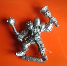 Chaos warrior champion citadel GW games workshop oldhammer warriors bell & mace