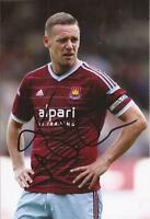 WEST HAM * KEVIN NOLAN SIGNED 6x4 ACTION PHOTO+COA