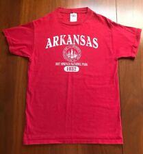 Vtg 90s T Shirt Hot Springs National Park Arkansas 1832 Made Usa Xs