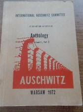 1972 International AUSCHWITZ COMMITTEE It did not end in 45 ANTHOLOGY Vol 3 Pt 2