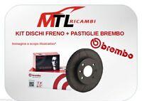 KIT DISCHI+PASTIGLIE FRENO BREMBO FIAT MULTIPLA 1.9 JTD DAL 2002 88KW
